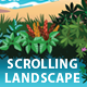 Tropical Island & Beach Scrolling Landscape - GraphicRiver Item for Sale