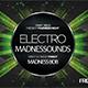 Electro Madness Facebook Cover Vol.V - GraphicRiver Item for Sale