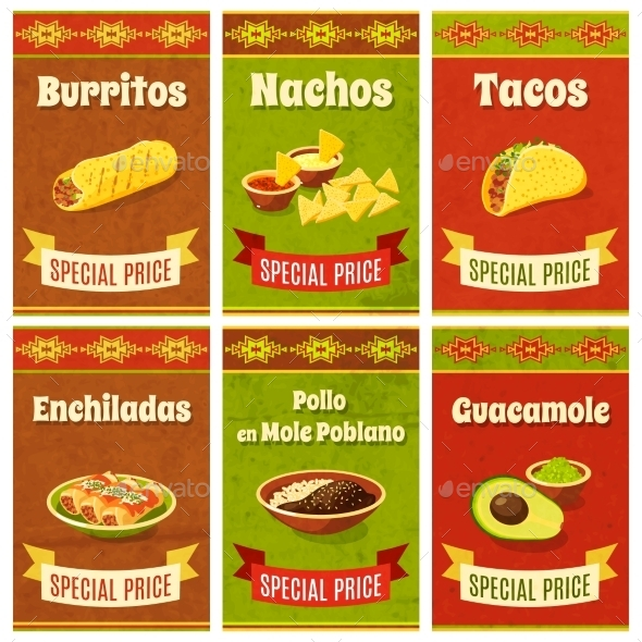 Mexican Food Poster - Food Objects
