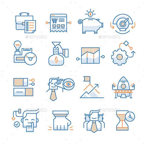 Business Startup Icons Collection - Business Icons