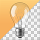 Fully Transparent Lightbulb - GraphicRiver Item for Sale