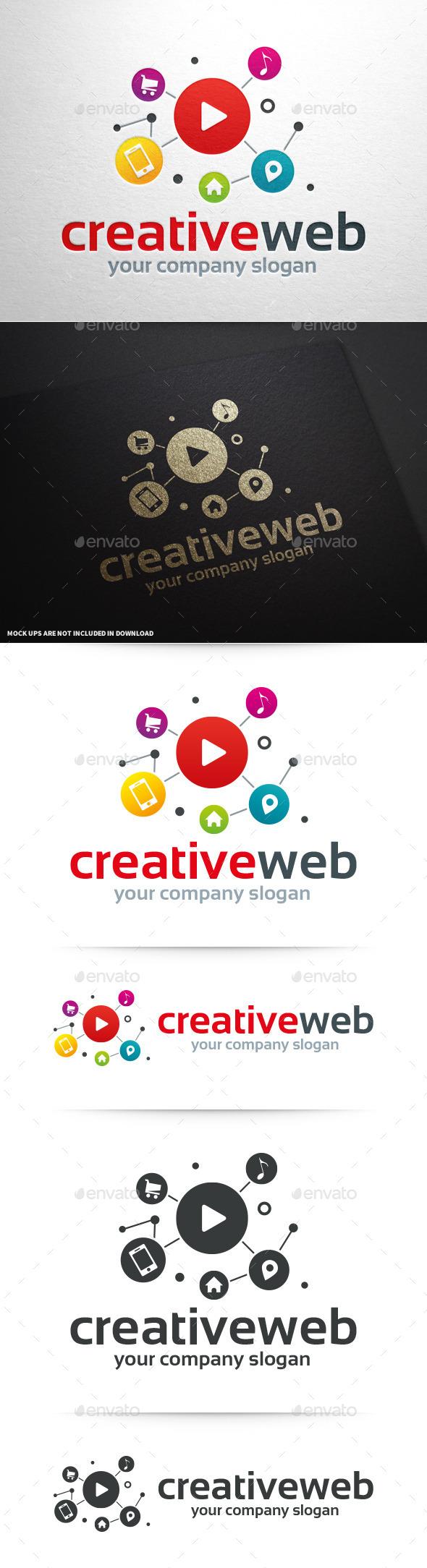 Creative Web Logo Template - Symbols Logo Templates