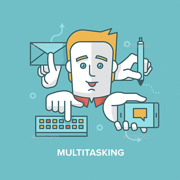 Multitasking - Concepts Business