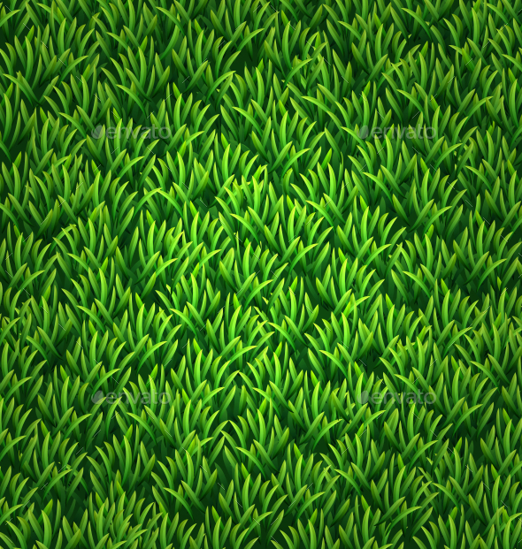 Green Grass Texture - Backgrounds Decorative