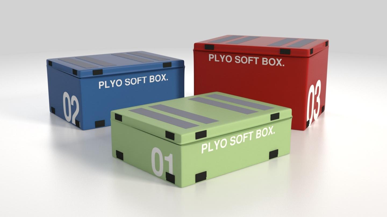 Fitness Plyo Soft Box By Videsigncz 3docean