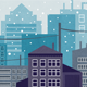 5 Cityscape Backgrounds - GraphicRiver Item for Sale