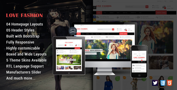 Love Fashion – Responsive Prestashop Fashion Theme