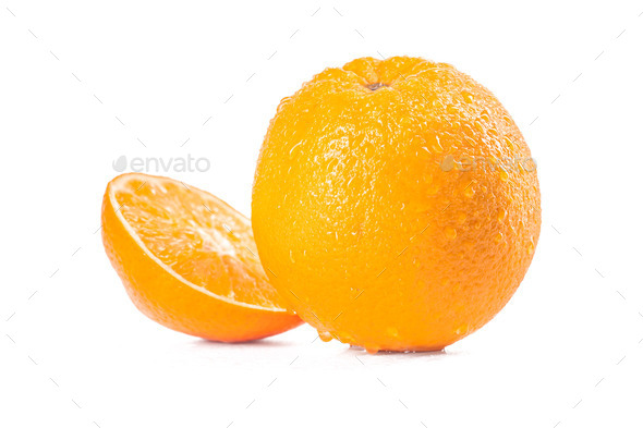 Ripe orange - Stock Photo - Images