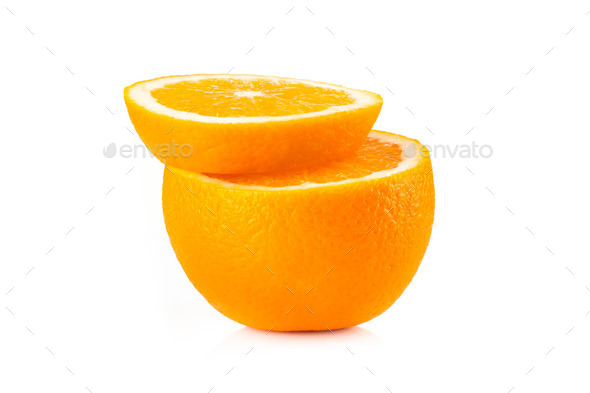 Ripe orange - Stock Photo - Images