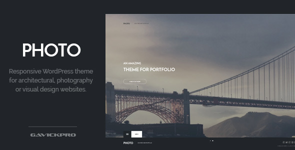 Photo – Architecture WordPress Theme