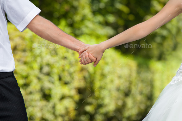 wedding hands - Stock Photo - Images