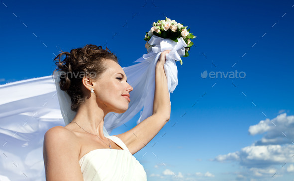 young bride - Stock Photo - Images