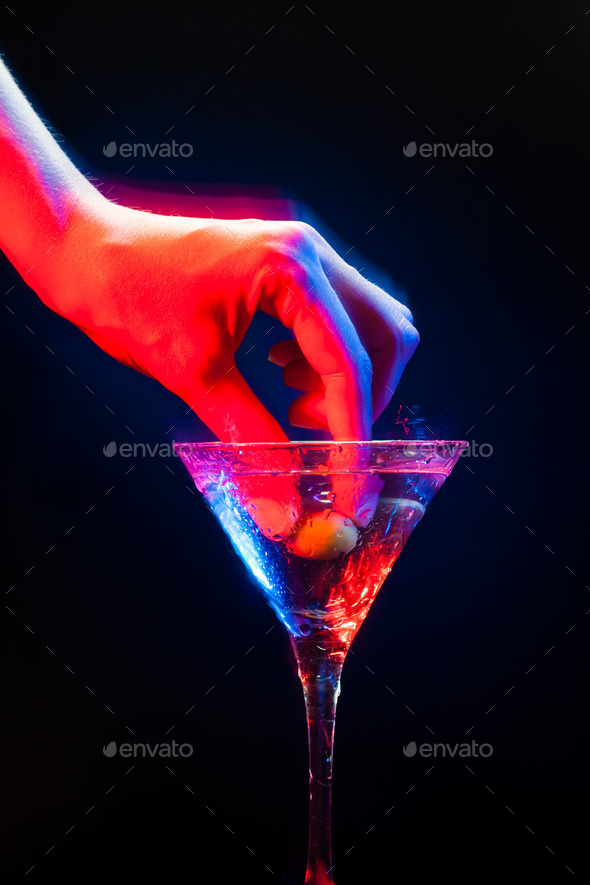 colourful coctail - Stock Photo - Images