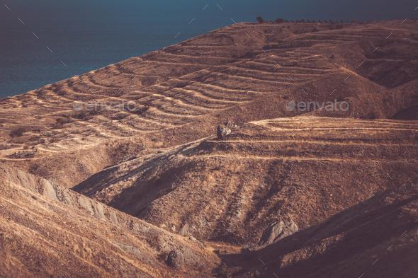 beautiful mountain landscape - Stock Photo - Images