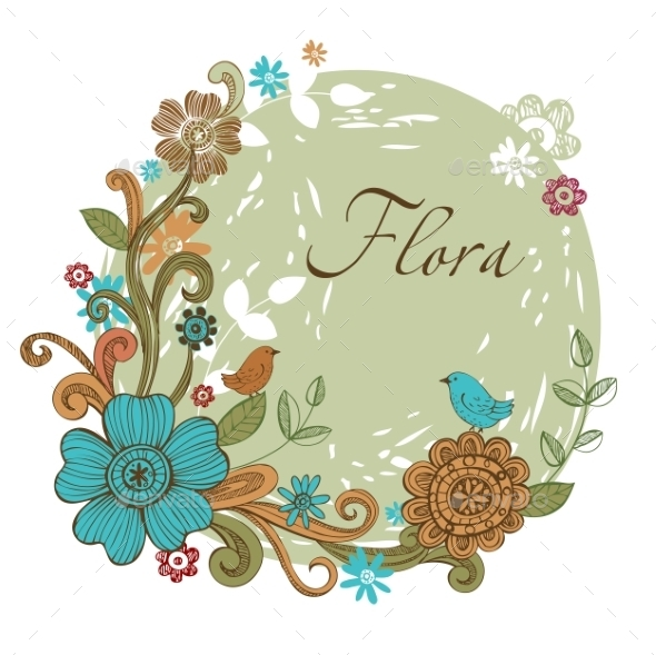 Floral Banner  - Flowers & Plants Nature