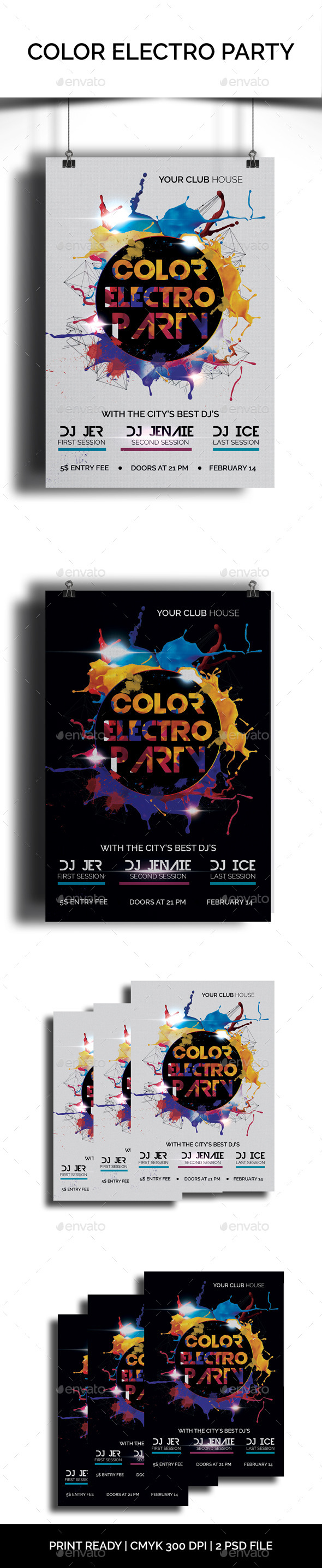 Color Electro Party - Clubs & Parties Events