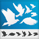 Graceful flying white doves - GraphicRiver Item for Sale