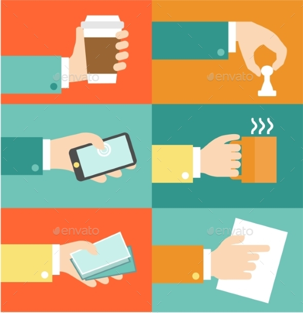 Business Hands Actions - Concepts Business
