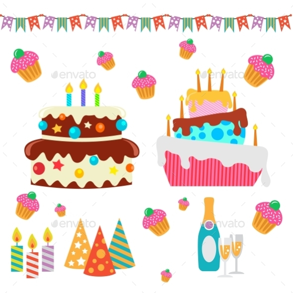 Happy Birthday Set - Birthdays Seasons/Holidays