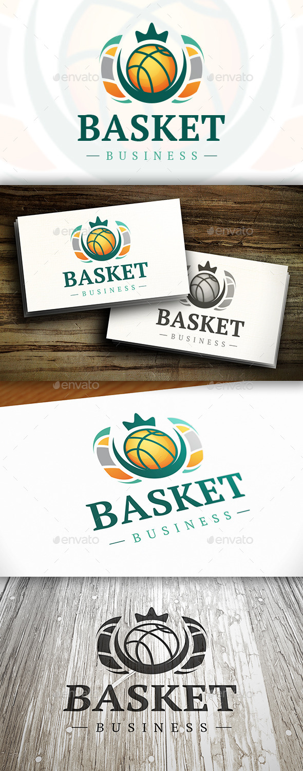 Basket Logo - Crests Logo Templates