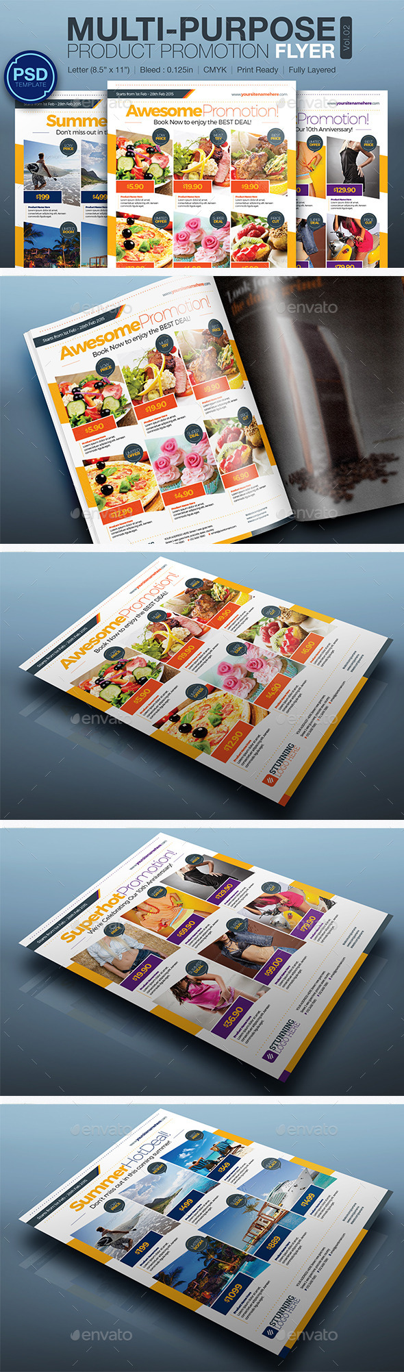 Product Promotion Flyer Vol.02 - Commerce Flyers