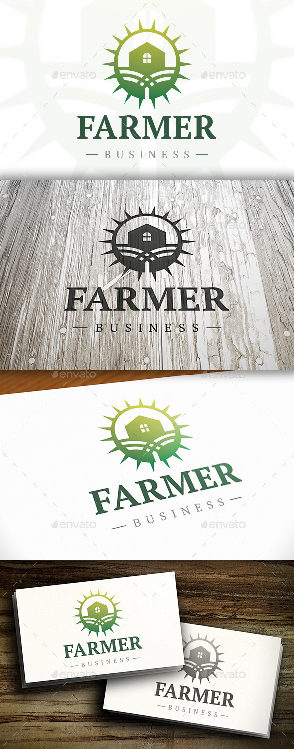 Farm Logo - Buildings Logo Templates