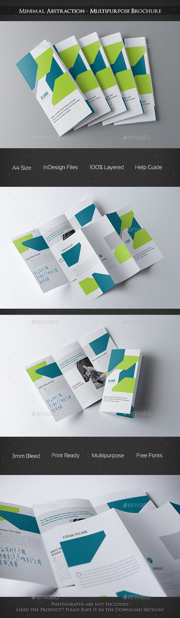 Minimal Abstraction - Multipurpose Brochure - Corporate Brochures