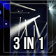 Stage Light And Crowd Pack 3 In 1 - VideoHive Item for Sale