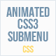 Animated CSS3 Submenu - CodeCanyon Item for Sale