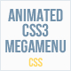 Animated CSS3 Mega Menu - CodeCanyon Item for Sale