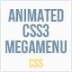 Animated CSS3 Mega Menu - CodeCanyon Item for Sale