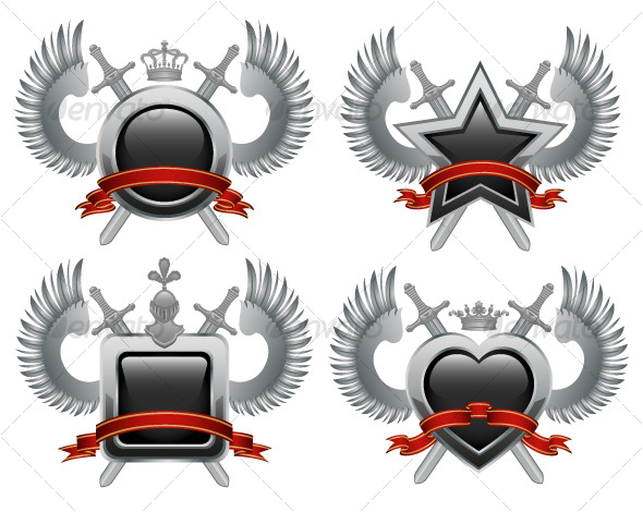 Coat of arms - Decorative Symbols Decorative