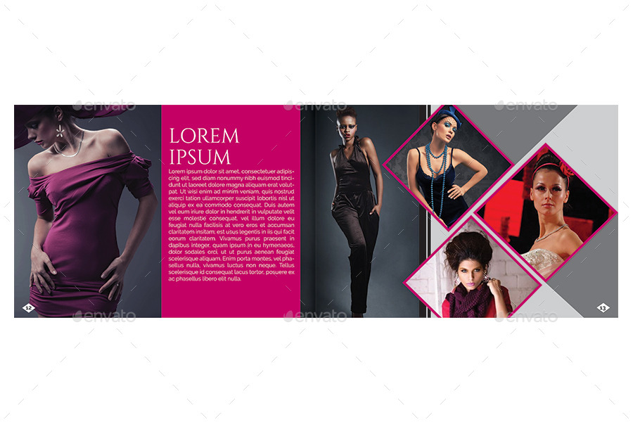 A5 Fashion Brochure Booklet Template by Reusam – Fashion Design Brochure Template