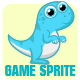 Dino Character - Game Sprite - GraphicRiver Item for Sale