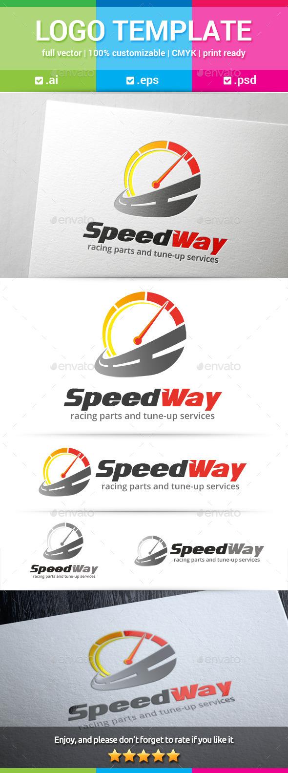 Speed Way Logo - Objects Logo Templates
