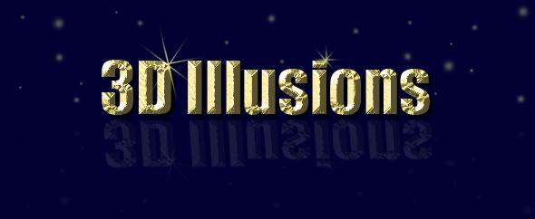 Logo 3d illusions