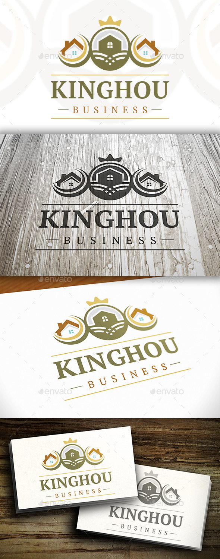 House King Logo - Buildings Logo Templates