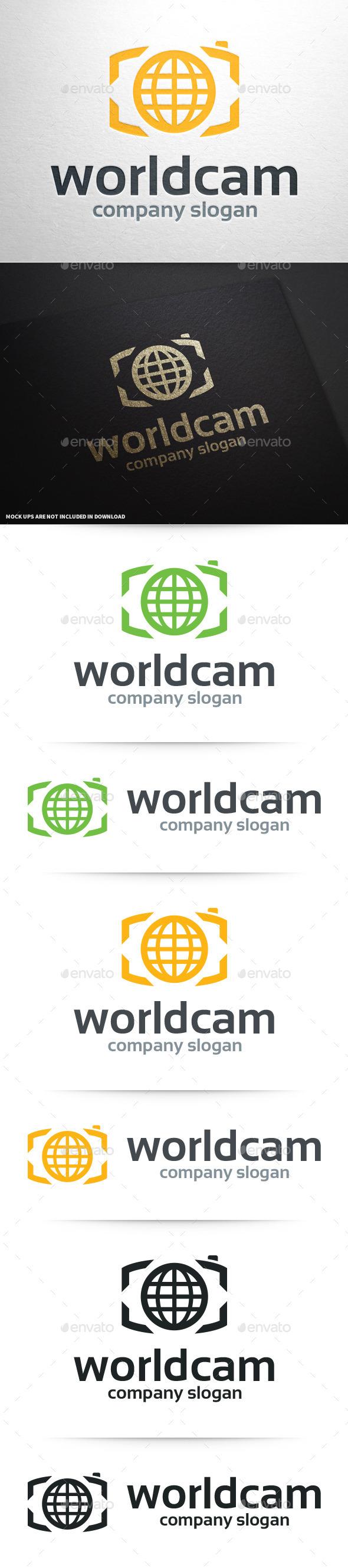 World Camera Logo Template - Symbols Logo Templates