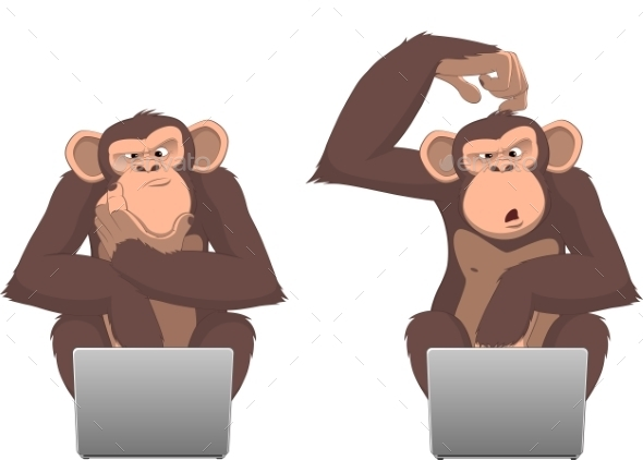 Monkey and Computer - Computers Technology