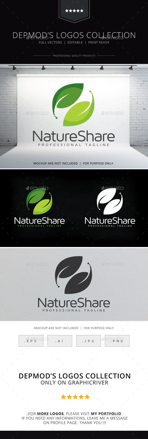 Nature Share Logo - Nature Logo Templates