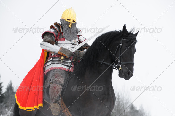Slavic Knight - Stock Photo - Images