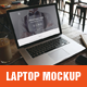 Realistic Laptop Mockup - GraphicRiver Item for Sale