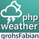 php Material Weather