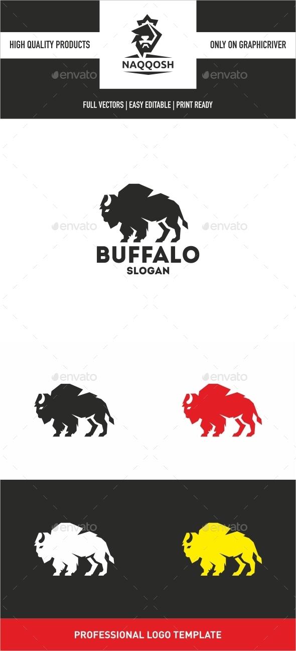 Buffalo Logo  - Animals Logo Templates