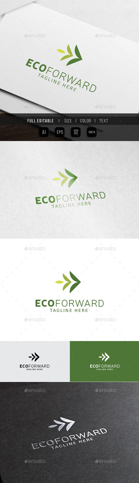 Eco Green - Forward Marketing - Nature Logo Templates