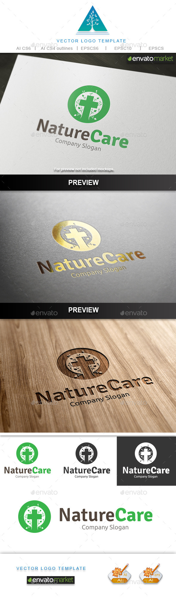 Nature Care Logo - Symbols Logo Templates