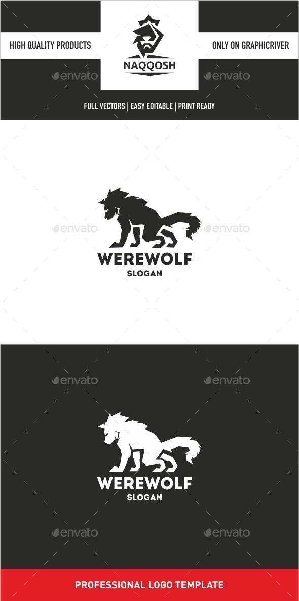 Werewolf - Logo Templates