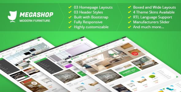 Megashop – Premium Responsive Prestashop Theme