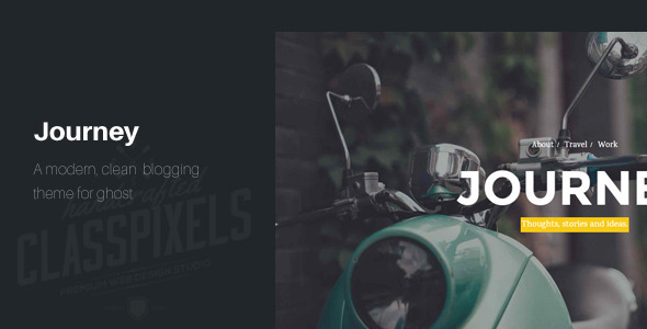 Journey – Responsive Ghost Theme