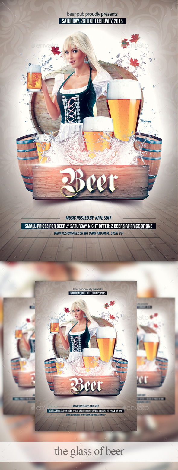 The Glass of Beer - Clubs & Parties Events